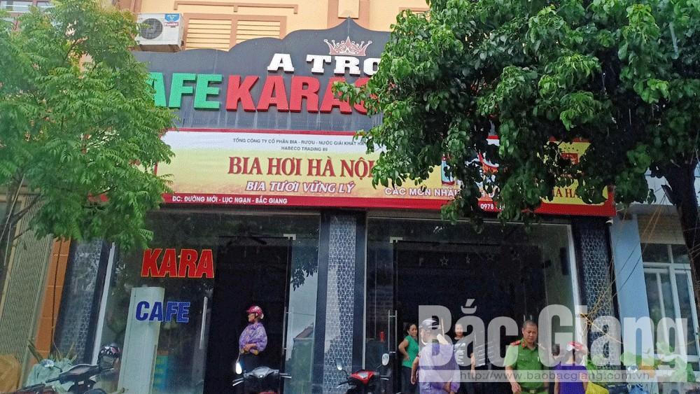 cháy, Lục Ngạn, Bắc Giang, karaoke.