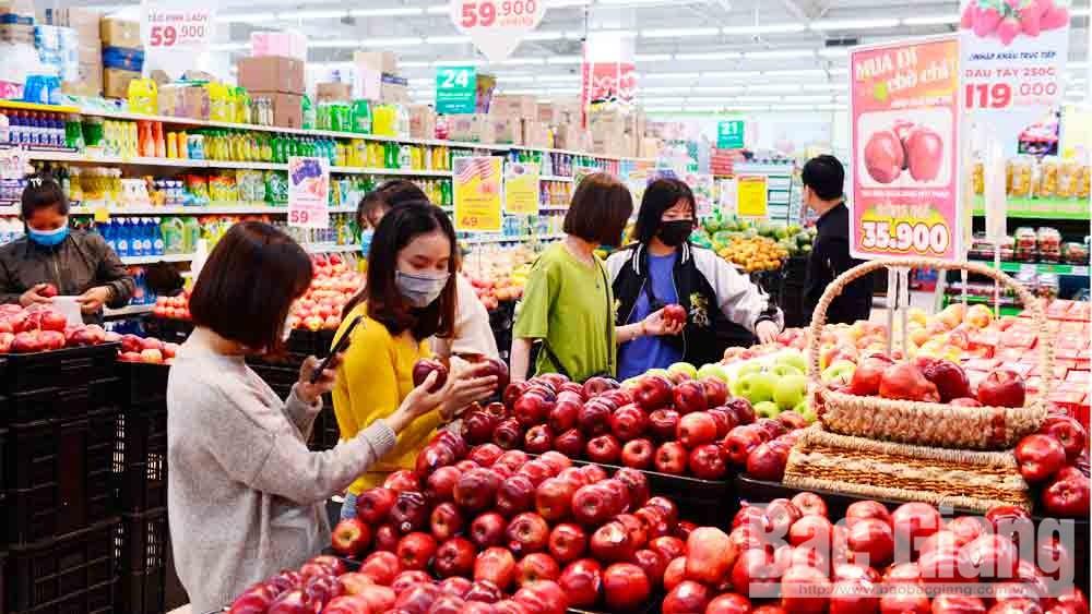 Thương mại - dịch vụ, động lực thúc đẩy tăng trưởng kinh tế TP Bắc Giang
