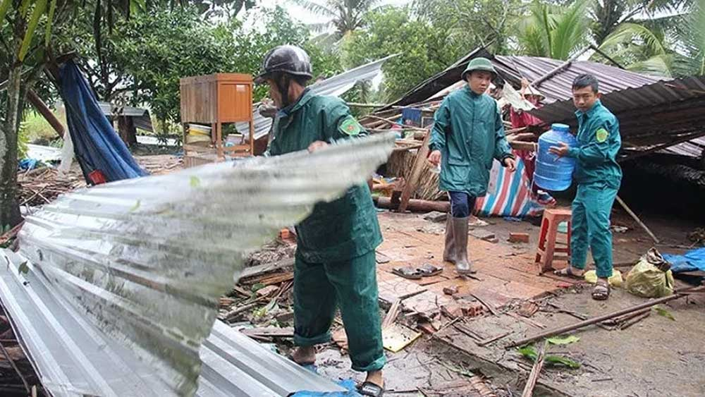Localities, overcome consequences, Storm Sinlaku, torrential rains, total loss, production activities, functional forces