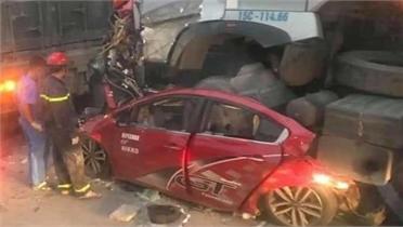 4 nạn nhân thương vong trong vụ tai nạn trên quốc lộ 5