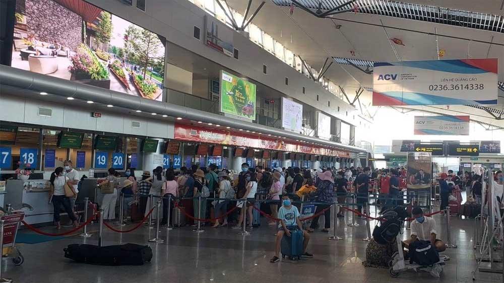 Hai chuyến bay, đưa du khách mắc kẹt, Đà Nẵng