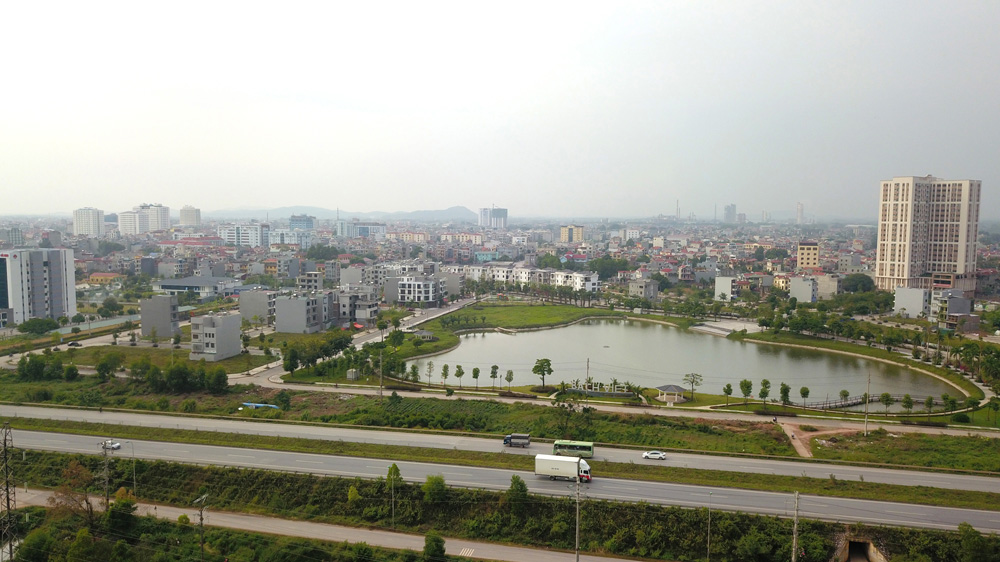 Bac Giang province, green - smart city, 22nd Congress, urban development results, urban development investment, important and comprehensive achievements