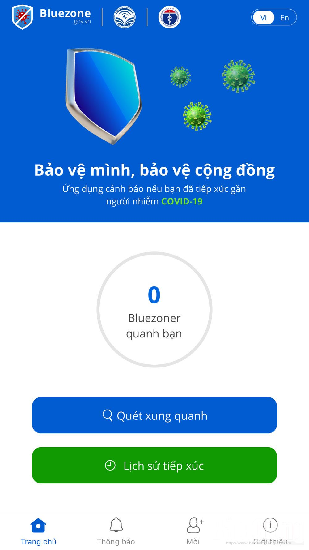 Bac Giang province, Bluezone App, Covid-19 pandemic, close contact, infected persons, smart phones, spread of the virus, prevention and control