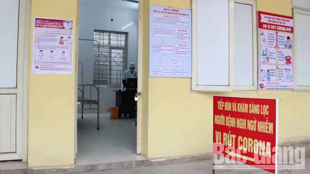 Bac Giang province, highly focuses, Covid-19 pandemic, health condition, sources of infection, strict isolation, preventive measures, medical declaration