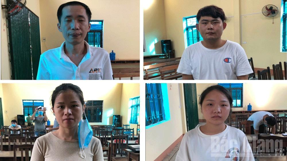 Công an Bắc Giang phát hiện nhóm người nhập cảnh trái phép