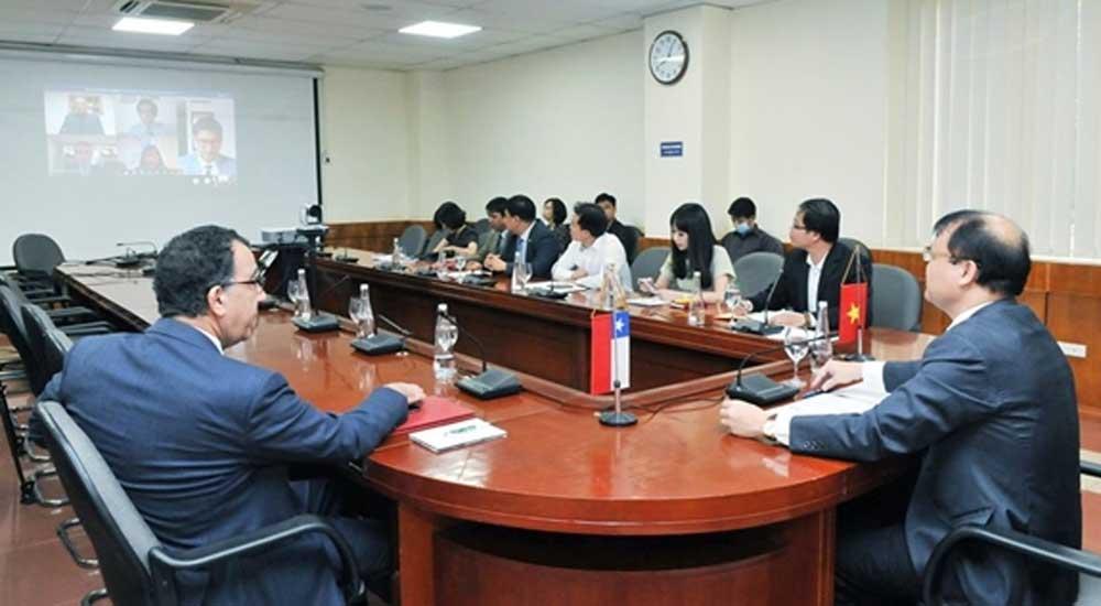 Vietnam, Chile, economic and trade cooperation, bilateral collaboration, full advantage, Free Trade Agreement, Comprehensive and Progressive Agreement