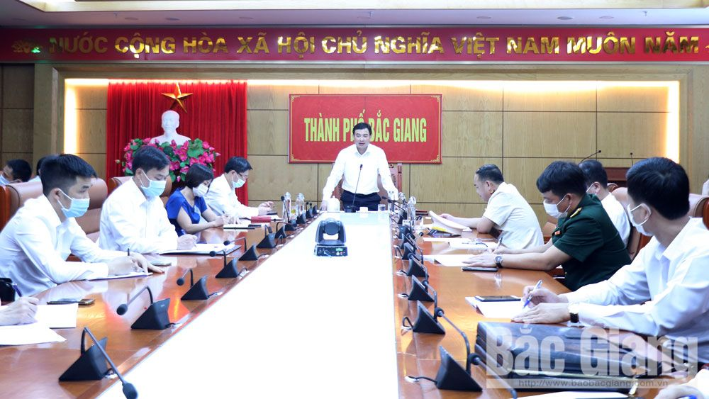 TP Bắc Giang: Khẩn trương điều tra dịch tễ, truy vết người có liên quan đến trường hợp nghi nhiễm Covid-19 ở Sơn Động