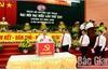 Đại hội Đảng bộ huyện Lục Ngạn khóa XXV: Bầu 41 đồng chí vào Ban Chấp hành khóa mới