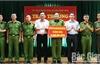 Chủ tịch UBND huyện Hiệp Hòa khen thưởng lực lượng đấu tranh phòng, chống tội phạm về ma túy