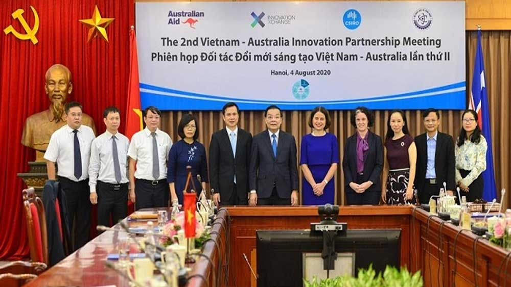 Australia, assists Vietnam, apply AI, post Covid-19, economic recovery, financial support, short-term funding, AI ecosystem, Aus4Innovation