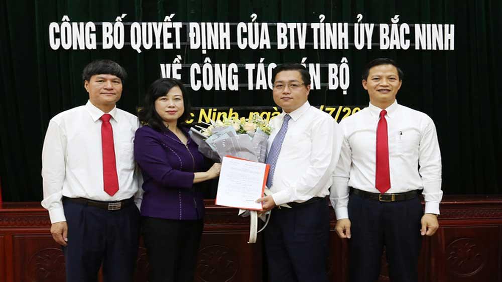 Bí thư Thành ủy Bắc Ninh làm phó giám đốc sở
