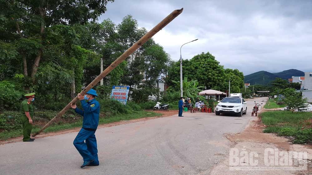 Phân luồng, giao thông, phòng tránh, dịch Covid-19, trên địa bàn, huyện Sơn Động