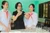 Chế tạo màng lọc không khí từ xơ dừa và nano bạc: Hai nữ sinh Bắc Giang giành giải Ba quốc gia