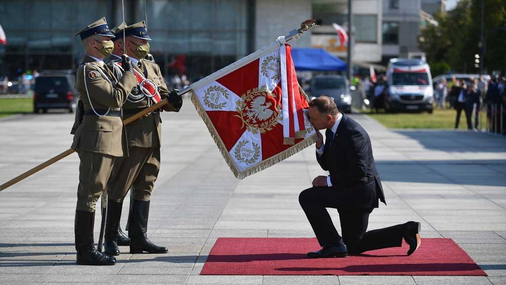 Đương kim Tổng thống Ba Lan, tuyên thệ, nhậm chức ,nhiệm kỳ 2