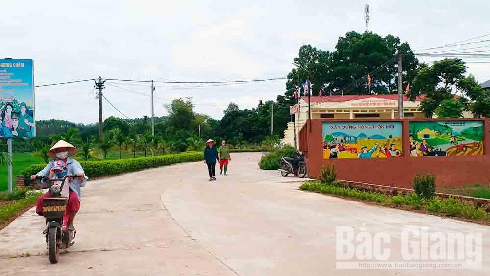 Tân Vân - thôn nông thôn mới kiểu mẫu ở Yên Thế
