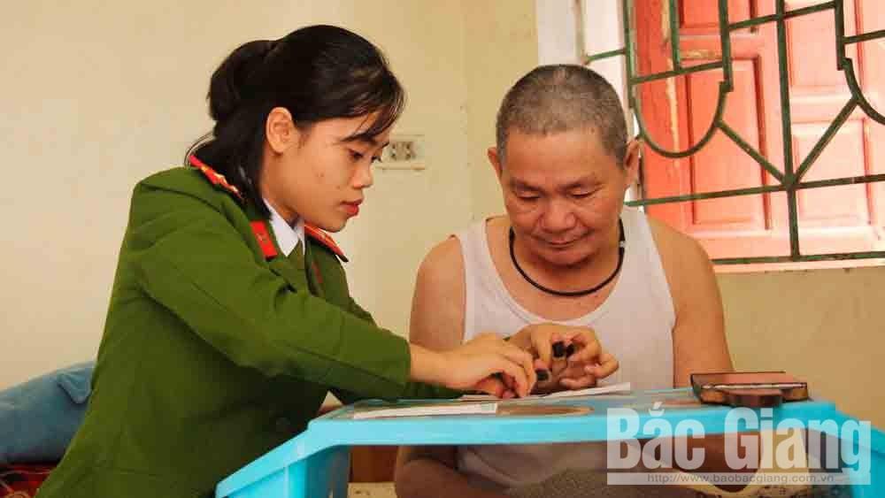 Bắc Giang, chiến sĩ công an, Công an nhân dân, hình ảnh đẹp