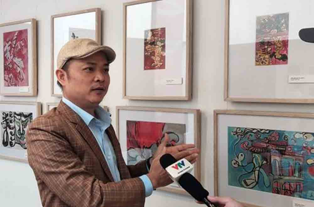 Painter, special passion, Nguyen Du, epic poem, Tale of Kieu, Nguyen Tuan Son, long-time passion,  Vietnamese wisdom view, literary work