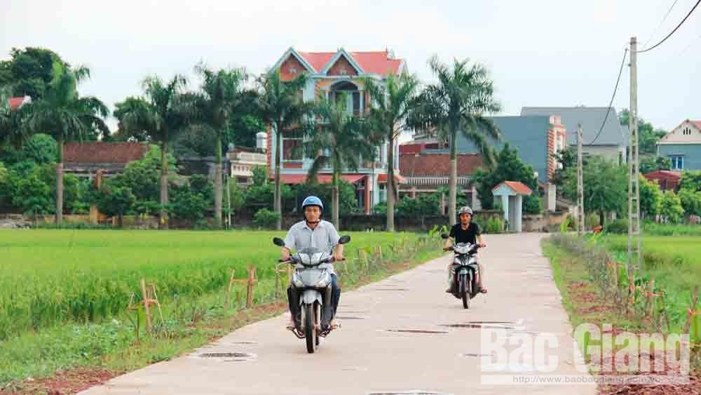 Lạng Giang khơi sức dân xây dựng thôn nông thôn mới kiểu mẫu