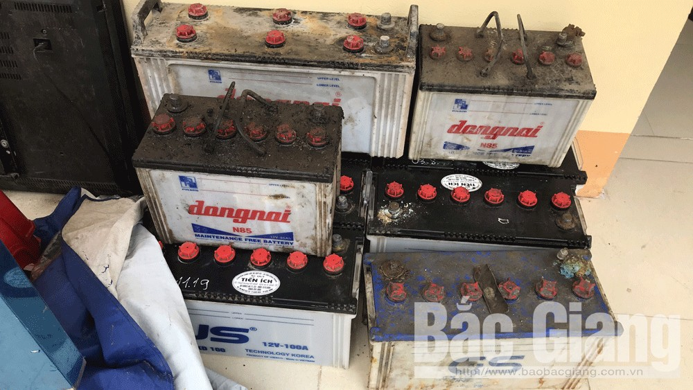 Trộm cắp tài sản, Công an Lục Ngạn, Bắc Giang