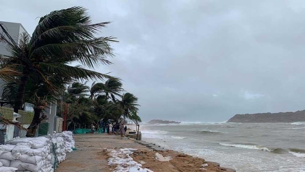 Xuất hiện, vùng áp thấp, Biển Đông, gây mưa to gió lớn