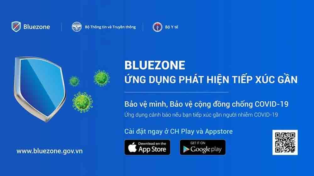Covid-19 contact tracing app, Bluezone, 10 million users, global pandemic, Covid-19 patients, Covid-19 cases, prevent larger outbreaks