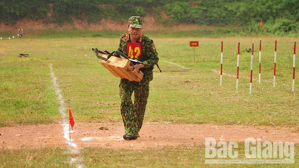 Bộ CHQS tỉnh Bắc Giang, hội thao, thể dục thể thao, quốc phòng