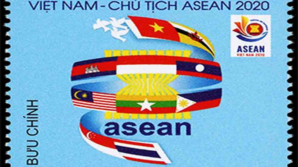 Special stamp released to mark Vietnam's 2020 ASEAN Chairmanship