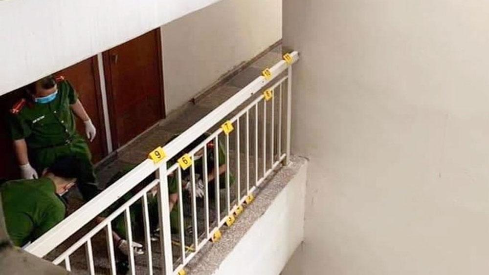 Tiến sĩ, Bùi Quang Tín, tự ngã từ tầng 14