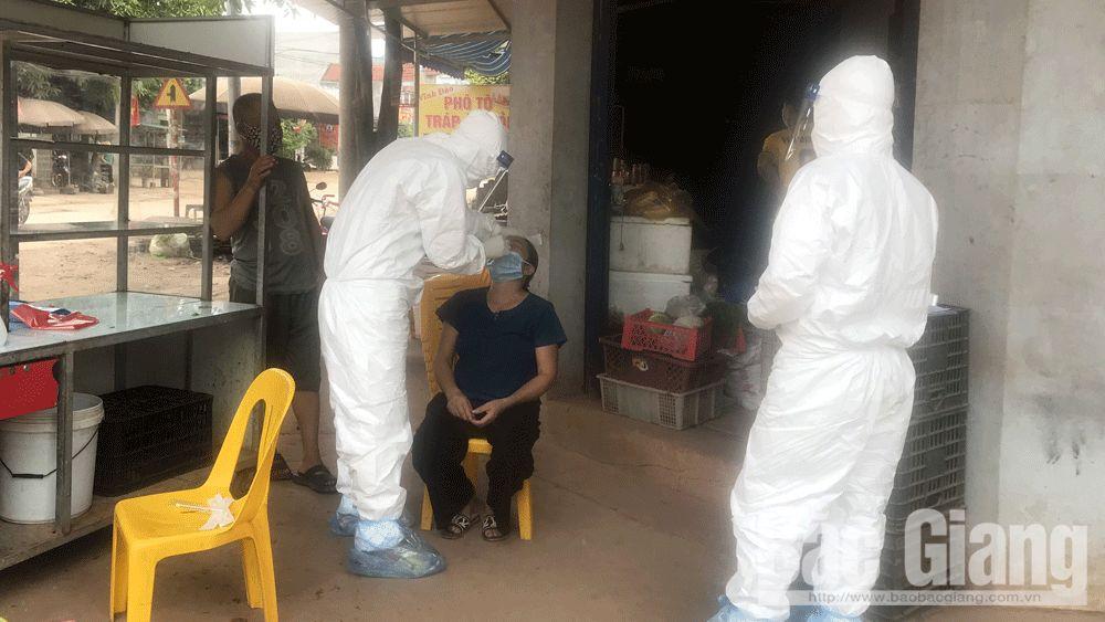 bệnh nhân, phòng dịch, covid-19, Yên Định, Bắc Giang