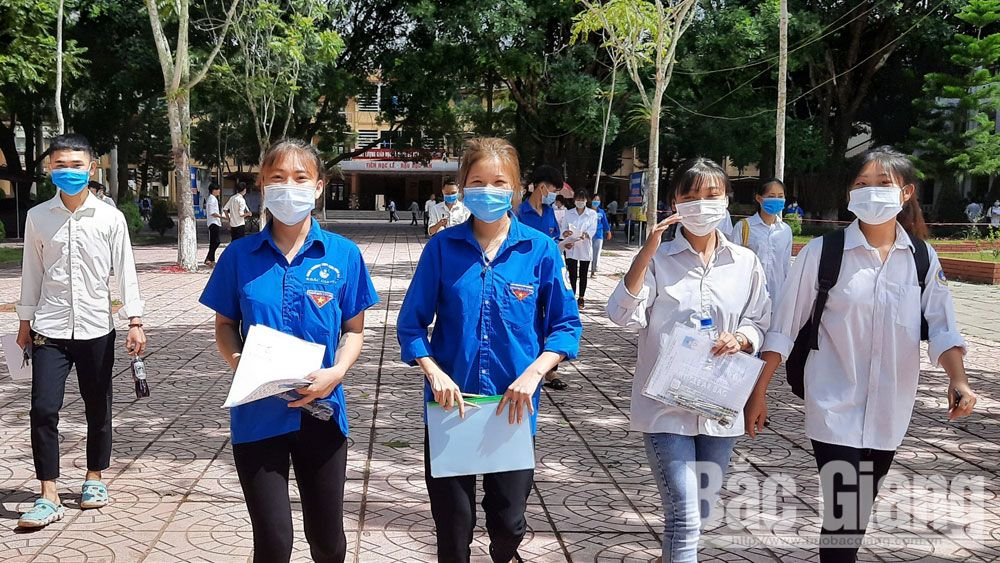Thi tốt nghiệp THPT, thí sinh, giáo dục, Sơn Động, Bắc Giang