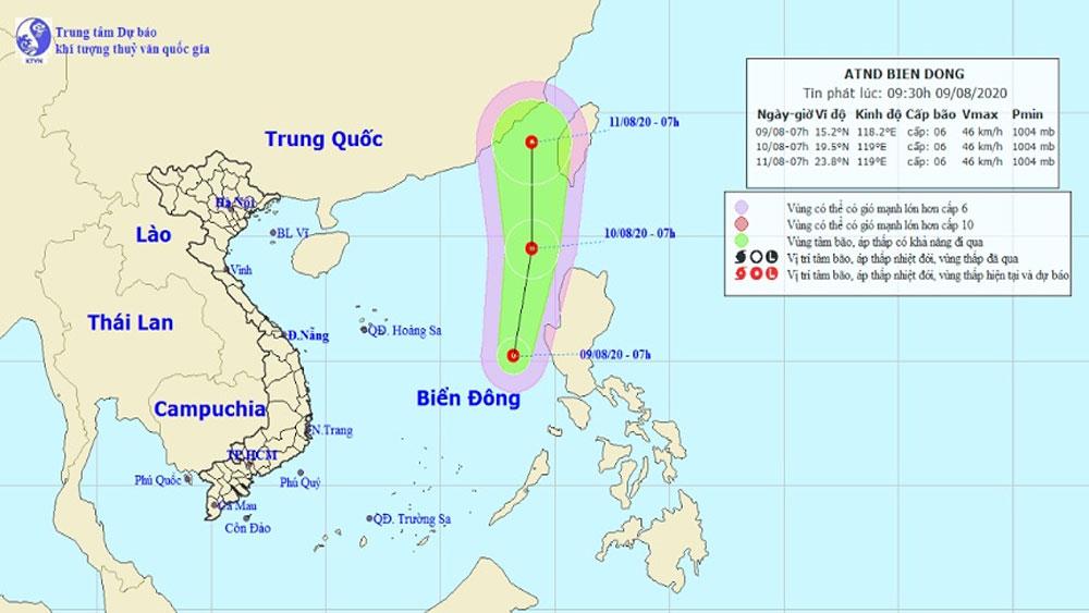 Vùng áp thấp, áp thấp nhiệt đới, thời tiết