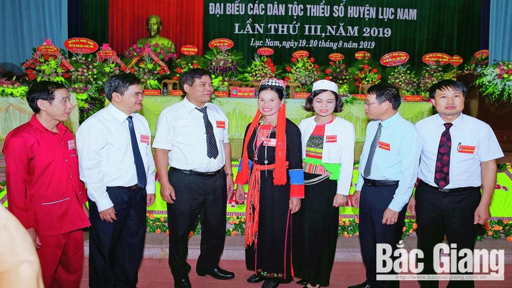 Đại hội Đảng, Đảng bộ, chi bộ, Bắc Giang, Lục Nam