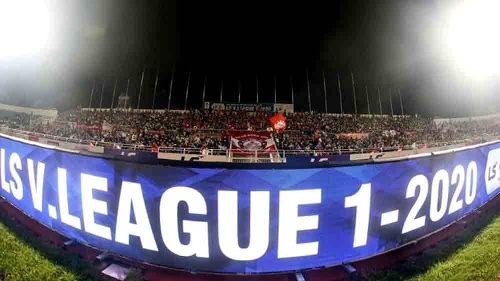 V.League, resume next month, top professional football league,  complex developments, Covid-19 epidemic, participating clubs