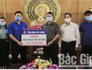 Bac Giang youth join hands with Son Dong district to fight against Covid-19