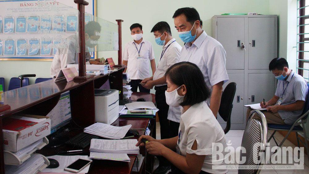 Cải cách hành chính, kiểm tra, iso, việt yên, Bắc Giang