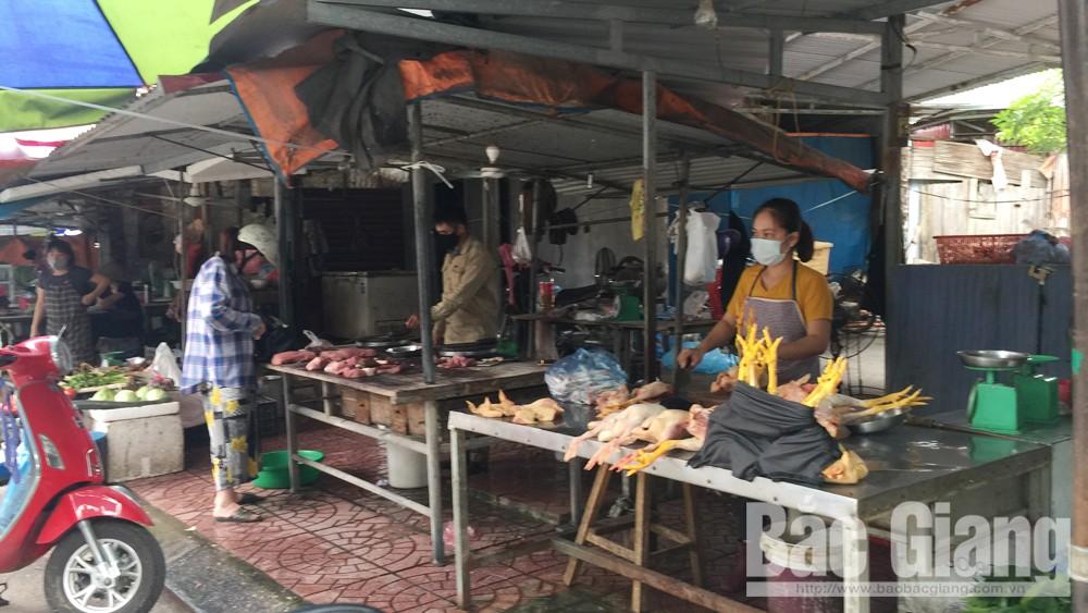 Bắc Giang, thị trường, hàng hóa, nguồn cung,găm hàng, đầu cơ, tích trữ, dịch Covid-10
