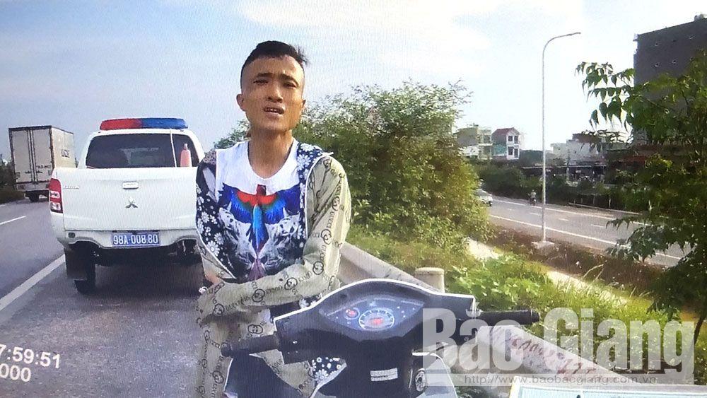 giao thông, bắt giữ, xe máy, mô tô, trộm cắp, Việt Yên, Bắc Giang, Bắc Ninh.