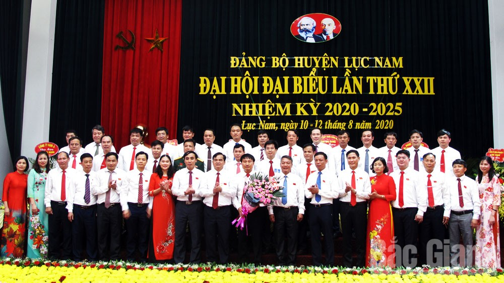 Đại hội đại biểu Đảng bộ huyện Lục Nam: Bầu 39 đồng chí vào Ban Chấp hành khóa mới