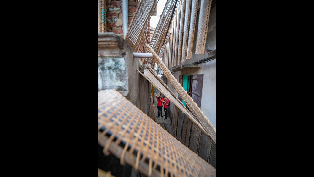 Làng nghề bánh đa nem Thổ Hà