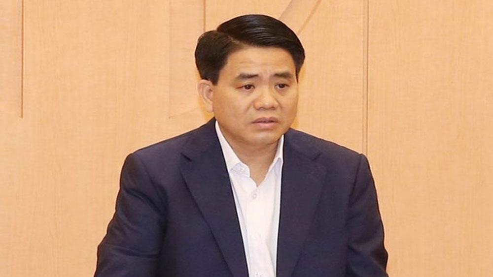 Ông Nguyễn Đức Chung , bị tạm đình chỉ, công tác, xác minh, điều tra, liên quan đến 3 vụ án