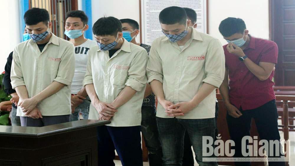 Bắc Giang: Nhóm công nhân trộm cắp tài sản của doanh nghiệp lĩnh án 61 năm tù
