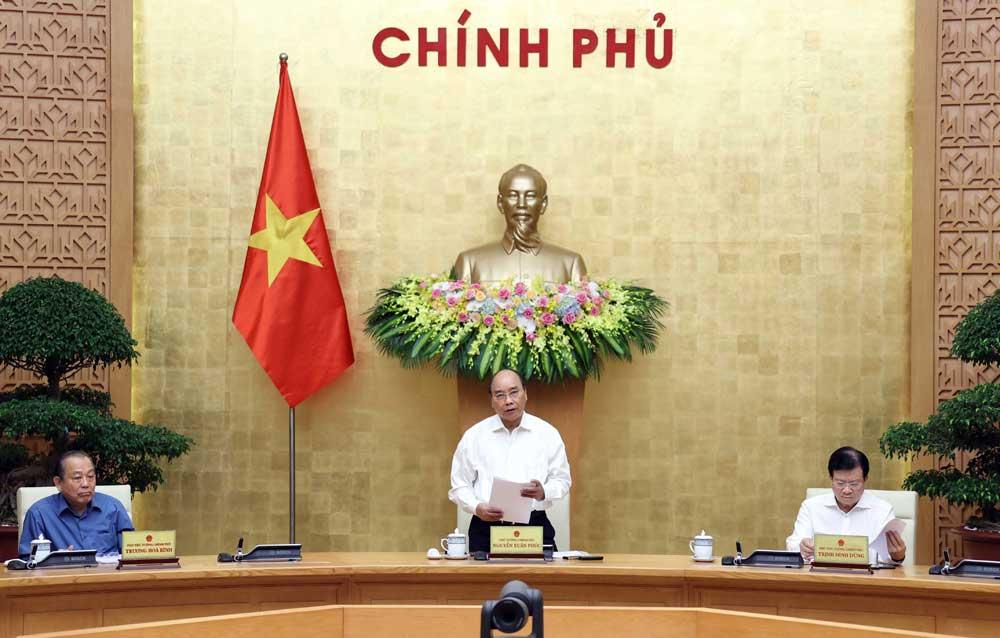 Thủ tướng , chủ trì, phiên họp Chính phủ ,chuyên đề, xây dựng pháp luật