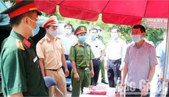 Bac Giang concentrates on locating for pandemic control, ensuring people's living