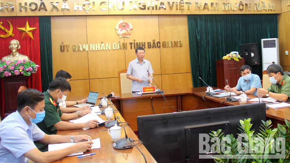 Bac Giang province, pandemic control, ensuring people's living, Covid-19 pandemic, prevention and control, testing results, 14-day quarantine