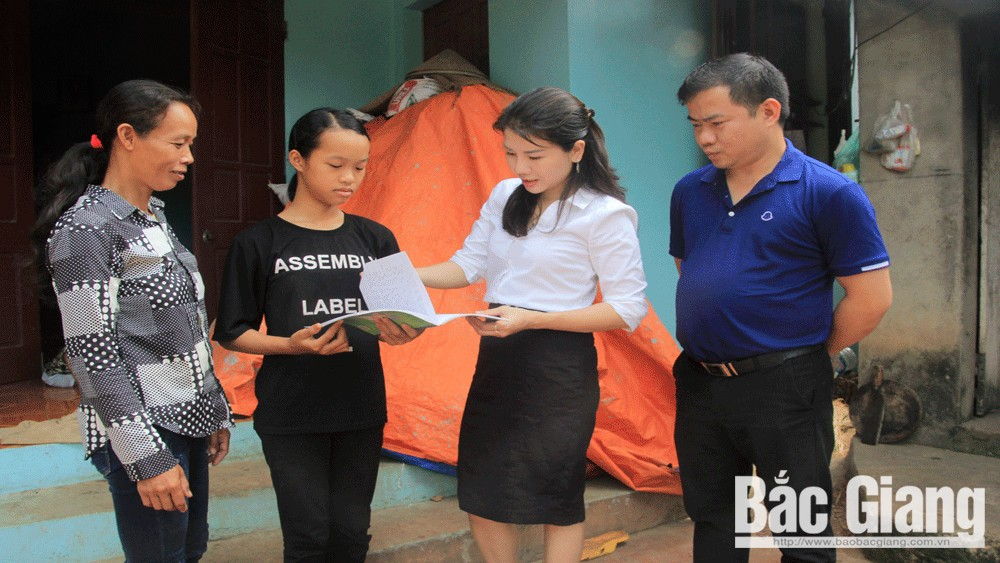 Bac Giang province, needy students, go to school, Protection of Children's Rights, domestic and foreign countries, impoverished students
