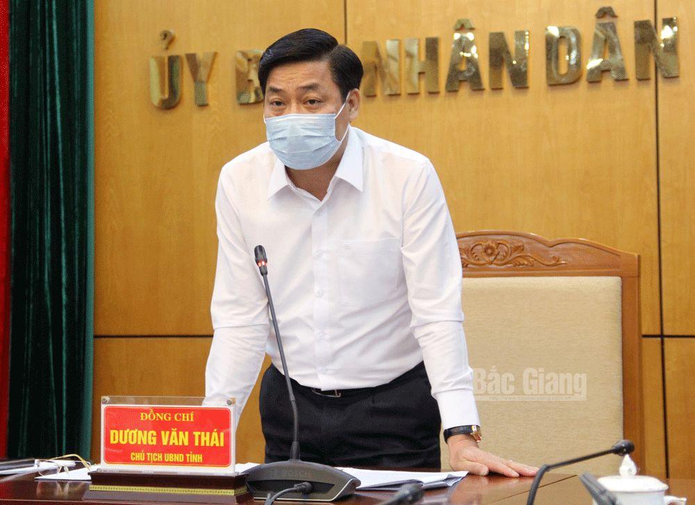 Covid-19, phòng chống dịch, họp trực tuyến, Dương Văn Thái, Nguyễn Xuân Phúc