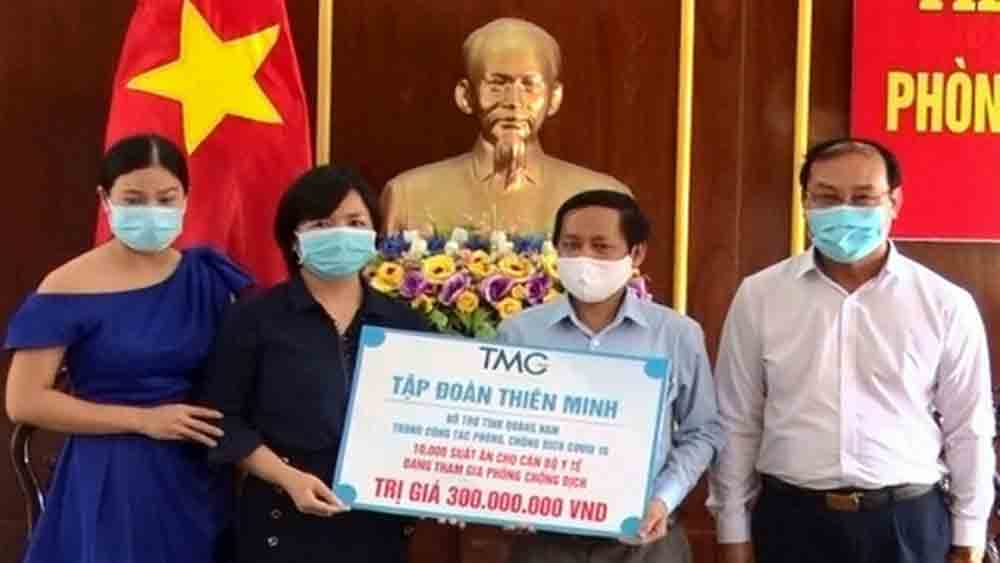 Businesses, Quang Nam province, fight against Covid-19 pandemic, personal protective equipment, tourist accommodation establishment