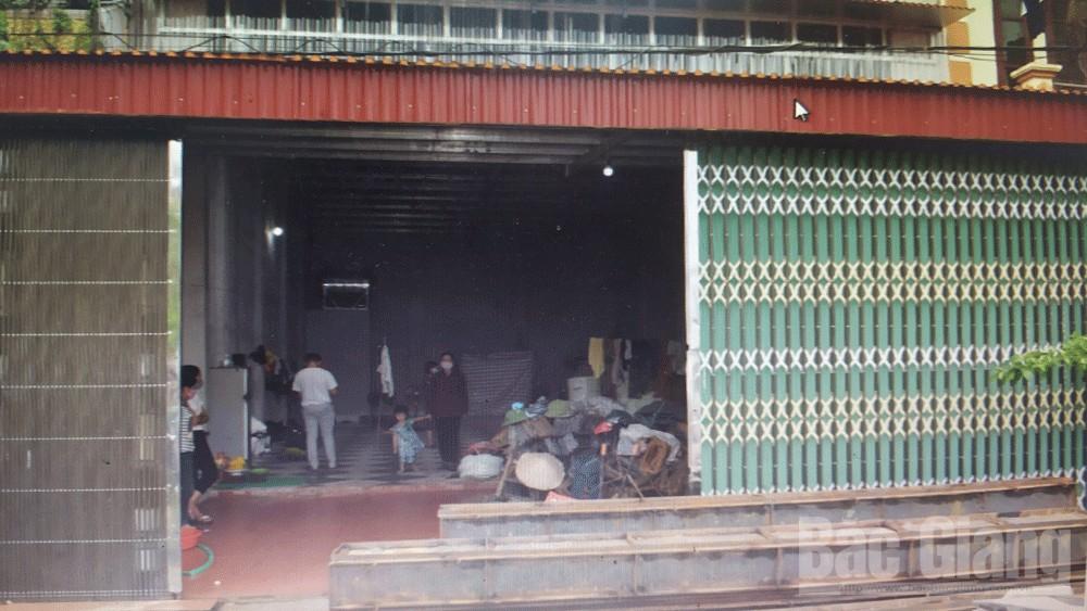 Tử vong tại nhà trọ, Công an Yên Dũng, Bắc Giang