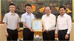 Luxshare ICT Co.,Ltd donates 1 billion VND and 50,000 face masks to Bac Giang province to fight against Covid-19 pandemic