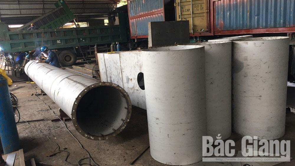 Yên Dũng: Phấn đấu vận hành lò đốt rác công suất 60 tấn/ngày vào tháng 9 tới